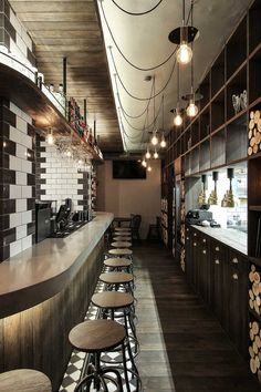 industrial dining experience