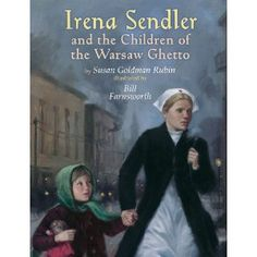"""Biography. Good to use with the """"Secret Book"""" art project (taught in art for children) and good for talking about World War II, and doing the right thing, with older kids. About Irena Sendler, a social worker, who snuck children out of a ghetto while dressed as a nurse. Tells about different escape routes, hiding places, and what happened after the war."""