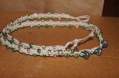 WrapARound Hemp Bracelet by bernsteinsusan on Etsy, $15.00
