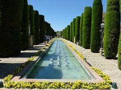 """Jardins d""""Alcazar à Cordoue"""