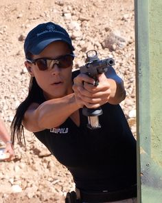 Jessie Duff. Possibly the best female shooter in the world.