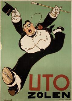 By Charles Verschuuren jr., c 1920, Uto zolen.