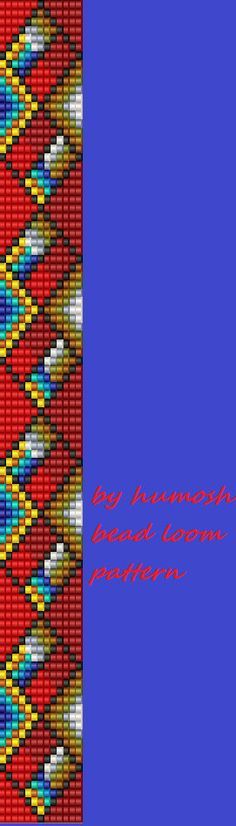 bead loom pattern36 by Humosh on Etsy More