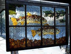 mosiacs in old windows | mosaic  mōˈzā-ik  , noun: 1. A picture or pattern produced by ...