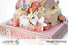 Paper cake, Gilded Lily, Maggi Harding, Graphic 45 #gildedlily #graphic45