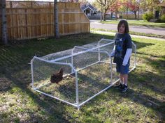 Build PVC Chicken Tractor - Bing Images Good idea also for garden row covers or rabbit tractor