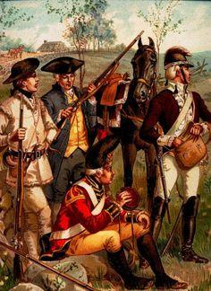 American Revolutionary War Uniform - Independent Companies, 1775