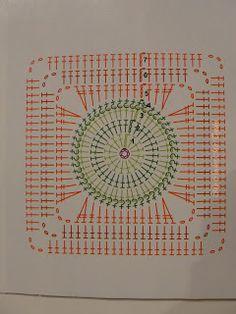 Granny Square patterns - Her Crochet - Granny Square Crochet Motif Patterns, Crochet Blocks, Granny Square Crochet Pattern, Crochet Diagram, Crochet Chart, Crochet Squares, Crochet Granny, Blanket Crochet, Granny Squares