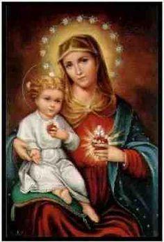 Oraciones a la Virgen María