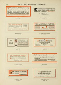 The art & practice of typography : a manual of ...