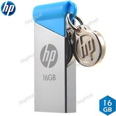 HP V215b Waterproof Shockproof 16GB USB2.0 U Disk USB Flash Drive USB Pen Drive EUD-327716