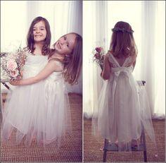Anna Campbell Flower Girl Dress