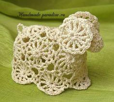 Guidelines - method learned in Japan Crochet Applique Patterns Free, Easter Crochet Patterns, Crochet Motif, Knit Crochet, Crochet Fairy, Crochet Angels, Irish Crochet, Easter Toys, Easter Crafts