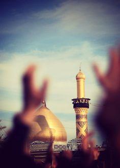islam, كربلاء, and arabic resmi Karbala Iraq, Imam Hussain Karbala, Islamic Images, Islamic Pictures, Islamic Art, Islamic Quotes, Allah Islam, Islam Quran, Imam Reza