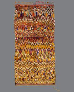 vintage Moroccan rug, Talsint