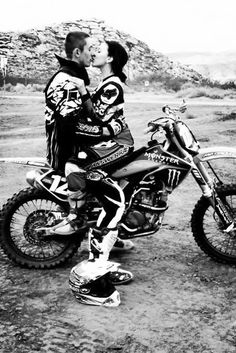 I love you Cody , forever and always . Dirt bike love