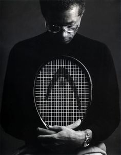 Arthur Ashe, American professional tennis player. He was the 1st Black player selected to the US Davis Cup team and the only Black man ever to win the singles title at Wimbledon, the US Open & the Australian Open (& winning doubles at the French & Australian Opens). After contracting HIV from a blood transfusion, he became an HIV & AIDS educator, founding the Arthur Ashe Foundation & the Arthur Ashe Institute before his death. He was posthumously awarded the Presidential Medal of Freedom…