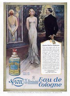 N°4711 Glockengasse (Eau de Cologne) 1931 Elegant, Christma