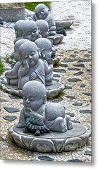 Jizo is the Bodhisattva who protects travelers and children. Baby Buddha, Little Buddha, Buddha Zen, Canvas Art, Canvas Prints, Art Prints, Buddha Canvas, Sculptures Céramiques, Garden Statues