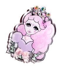 Roxie Sweetheart ~ Kawaii Designs with a Twisted Edge Kawaii Jewelry, Creepy Cute, Cute Designs, Kitsch, My Design, Minnie Mouse, Disney Characters, Fictional Characters, Barbie