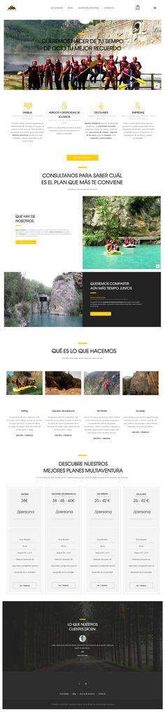 Dinamic Adventure - Web Design