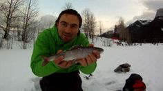 Great Action Arctic Grayling Ice Fishing Jaw Jacker Headed back to Quarry Lake in Canmore Alberta with my dad to see if we could land some Grayling from the pond. We fished the last hour and a half of light and caught four nice grayling all on bead head nymphs and chroni's. This lake has a bait ban and catch and release only as they use the eggs to harvest for the hatchery.