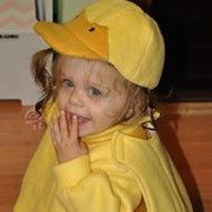 infant duck costume, toddler, baby, yellow, gold, fleece, warm, cuddly, web feet, hat. bubble tunic, cute, adorable, Halloween, dress up by AngelinesArmoire on Etsy