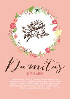 Carteles para Imprimir de las clases de las Mujeres Jóvenes: Abejitas, Damitas y Laureles