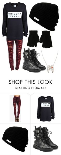 """""""Untitled #195"""" by tylerjoseph-890 ❤ liked on Polyvore featuring Zoe Karssen, Neff, Giuseppe Zanotti and claire's"""