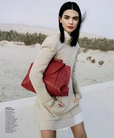 "vogue  "" Kendall Jenner takes on fashion s newest favorite pairing   Need-it-now neutrals and high-octane hues. See the full spread. 6f4bc3458f"