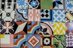 #concrete #handmade #mix&match #tiles #tsourlakistiles #design