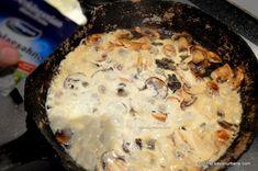 Muschiulet de porc cu sos de ciuperci | Savori Urbane Marsala, Carne, Meat, Chicken, Pork, Marsala Wine, Cubs
