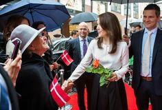 Prince Frederik & Princess Mary visit Germany Day - 2 May 20, 2015