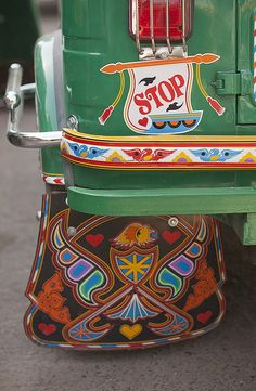 Sticker Stop by Meanest Indian, via Flickr