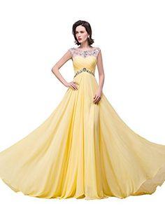 a5307ae7af9 Elegant Cap Sleeve Rhinestones Long Evening Gown