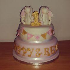 Gorgeous twins cake