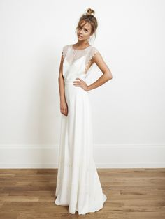 Rime Arodaky - Bowie Dress (does this HAVE to be a bridal dress? Boho Wedding, Wedding Gowns, Dream Wedding, Paris Wedding, Hippie Chic Weddings, Bohemia Wedding, Wedding Mandap, Wedding Receptions, Trendy Wedding