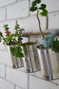 Idée déco 13 : les boîtes de conserve