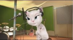 talking angela and tom songs - YouTube