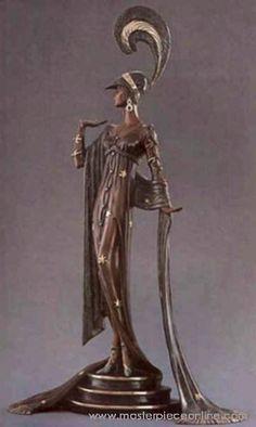 ERTE sculptures-Art Deco Figurine (
