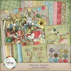Sweet Grove Collection - $10.47 : Digital Scrapbooking Studio My Wish List, Digital Scrapbooking, Studio, Sweet, Artist, Crafts, Collection, Artists, Crafting