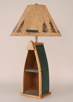 #Webfactory Online Stores #table                    #Boat #With #Shelves #Table #Lamp #Green #Western #Decor #Cabin #Decor        Boat With Shelves Table Lamp - Green - Western Decor - Cabin Decor                                      http://www.seapai.com/product.aspx?PID=1117365