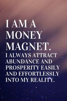 of attraction manifesting Positive affirmations for money: I am a money magnet. I always attract abundance and prosperity easily and effortlessly into my reality. Prosperity Affirmations, Positive Affirmations Quotes, Morning Affirmations, Affirmation Quotes, Inspirational Leadership Quotes, Affirmations For Money, Positive Morning Quotes, Affirmations Success, Motivational Quotes