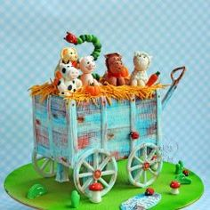 Farm animals on jolly ride ..