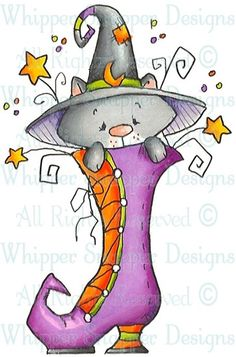 Puss In Boot - Halloween Images - Halloween - Rubber Stamps - Shop