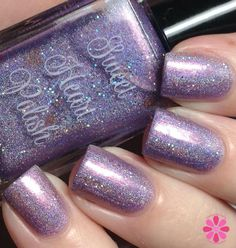 Sweet Heart Polish Candied Violets (Addicted to Holos box exclusive)