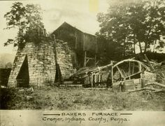Baker's Furnace, Cramer, Pennsylvania :: American Iron and Steel Institute photographs