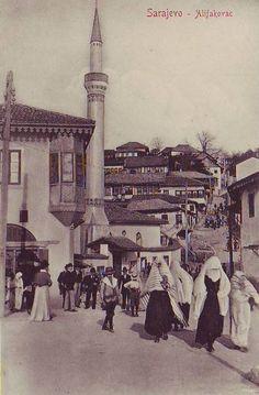 Eski Sarajevo dan bir resim. Ne kadar da bizden...
