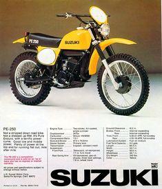 Suzuki Dirt Bikes, Mx Bikes, Bmw Motorcycles, Vintage Motorcycles, Cool Bikes, Enduro Motorcycle, Ducati Scrambler, Street Scrambler, Enduro Vintage
