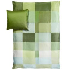 Duvet cover and pillow case by Hay.